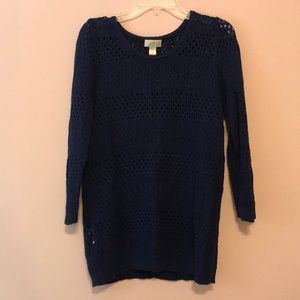 Navy Sweater from the Loft